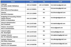 senior staff contact details (2)